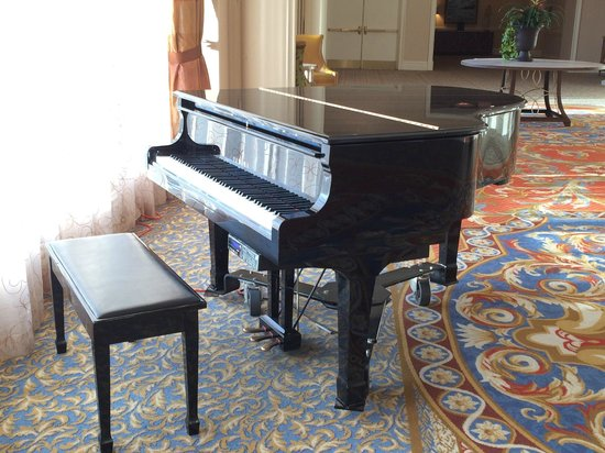 Tampa Marriott Waterside Hotel & Marina : Beautiful Piano