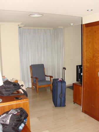 Silken Torre Garden: Mini escritório no quarto