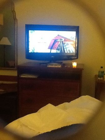 Hampton Inn Walterboro: great tv
