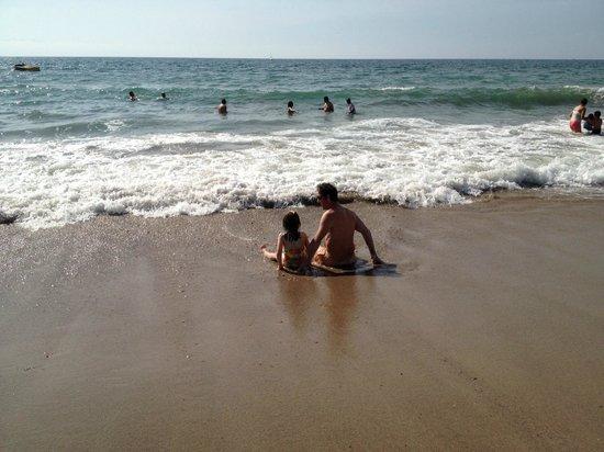 Hilton Puerto Vallarta Resort: Fun on the beach just meters away from the hotel.