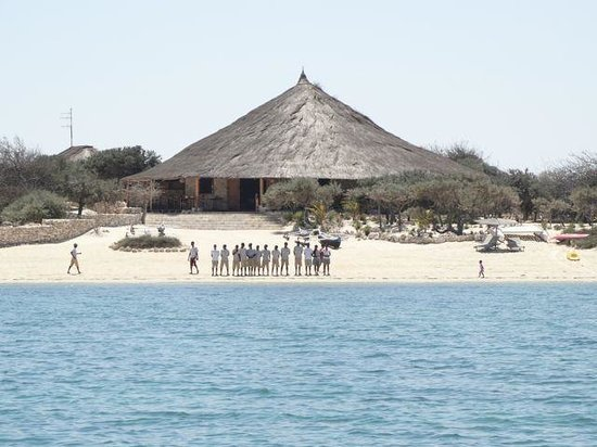 Anakao Ocean Lodge: Welcome party