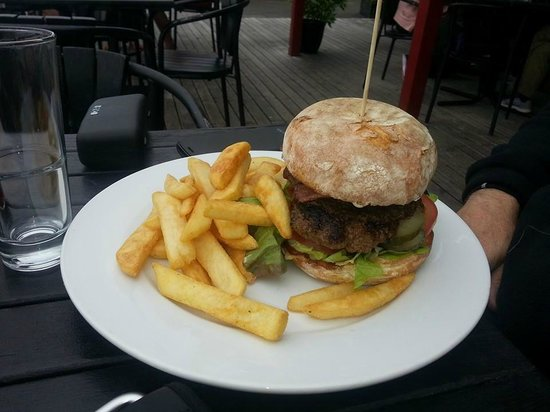 Cafe Neve: Hamburger