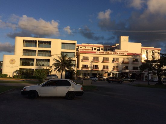 Saipan Ocean View Hotel: ダイビング三昧でした