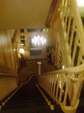 Hotel Stad Munster: stairs