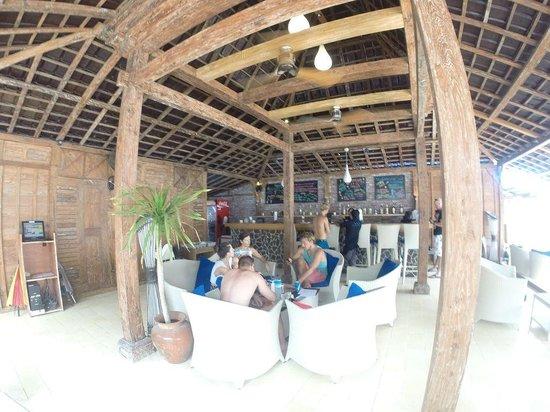Manta Dive Gili Air Resort: Waterfront Dining
