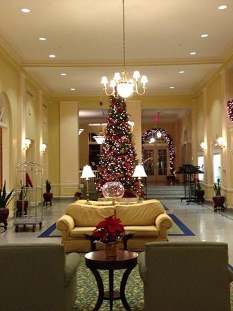 Stonewall Jackson Hotel and Conference Center: the lobby