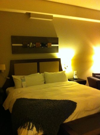 Hotel Nelligan: King bed