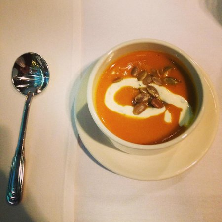Napa Valley Grille: butternut squash soup
