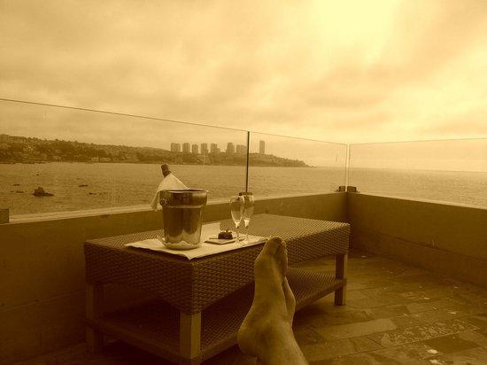 Radisson Acqua Hotel & Spa Concon: Vista de la terraza