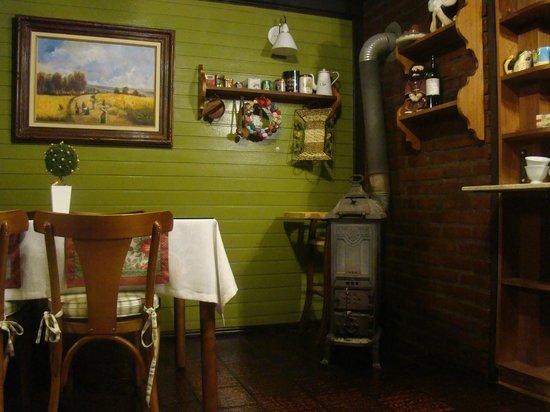 Pousada Jardim Secreto: Restaurante