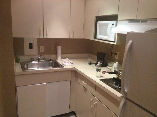 The River Inn: Kitchen