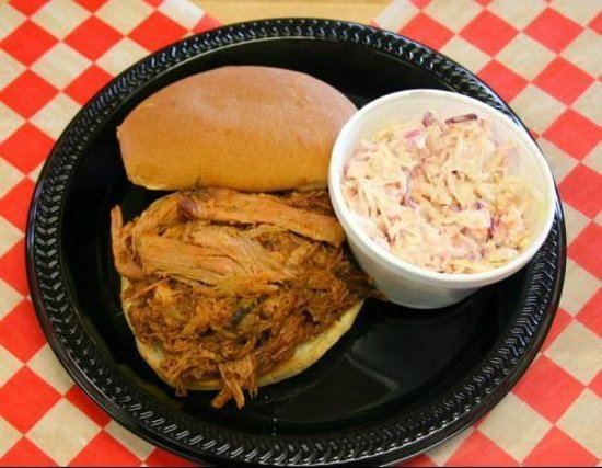 Archie's Barbeque: BBQ with side of homemade coleslaw