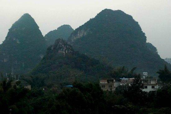 Yong Feng Hotel: vue fenêtre de la chambre