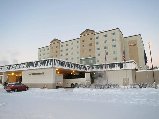 Westmark Fairbanks Hotel and Conference Center: きれいな外観です