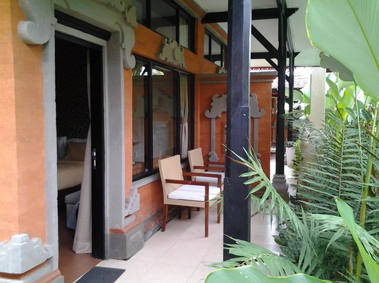 Natya Hotel Tanah Lot: My balcony