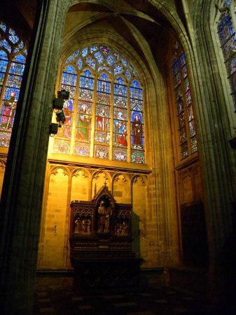 Notre Dame du Sablon : Notre-Dame du Sablon - vista interna