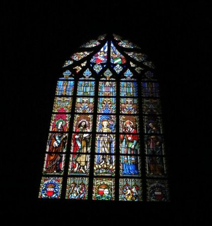Notre Dame du Sablon: Notre-Dame du Sablon - vista interna