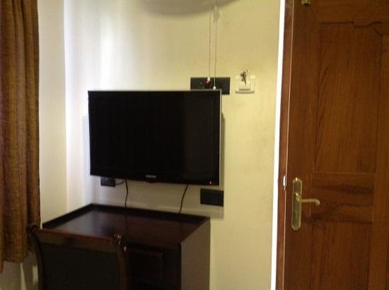 Treebo Simap Residency: led tv in room