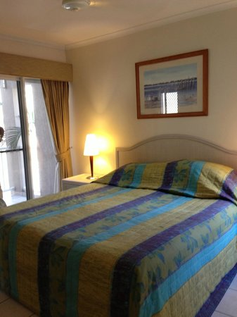 Coral Horizons Beachfront Apartments: ベッドルーム