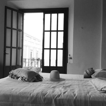 Hostal Casa Balché: habitacion azul