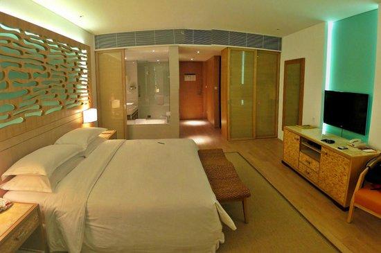 Sheraton Sanya Haitang Bay Resort : Nice bedroom
