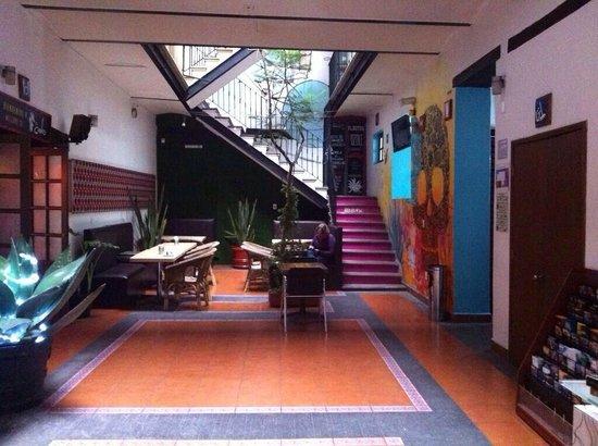 Hostal Centro Historico Regina: Remodelación lobby wow !!!