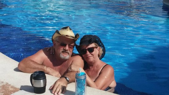 Grand Bahia Principe Cayacoa : This is us at the main pool