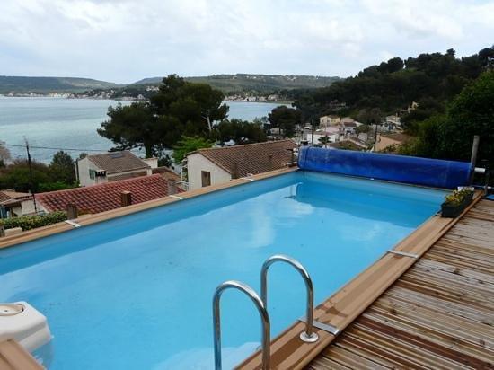 La Petite Cigale d'Or: zwembadje met tegenstroom