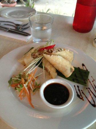Nu Nu Restaurant: 春巻き