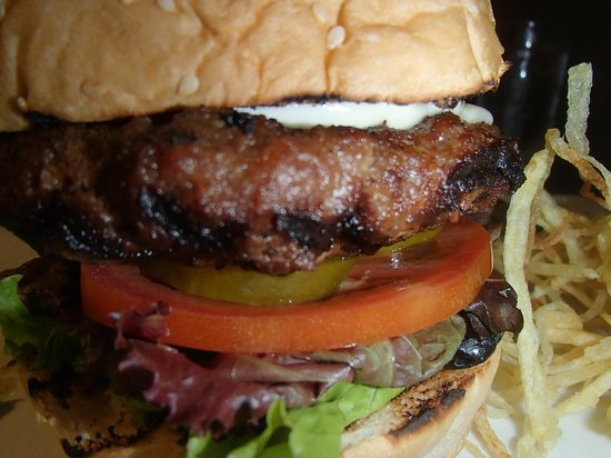 Microtel Inn & Suites by Wyndham - Acropolis: Check out this American Burger by Tito Chef