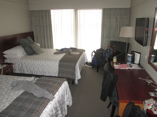 James Cook Hotel Grand Chancellor : Our bedroom