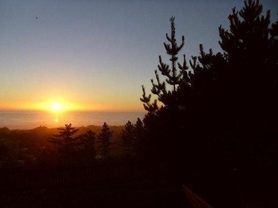 Buena Vista Cabanas : Sunset from cabin