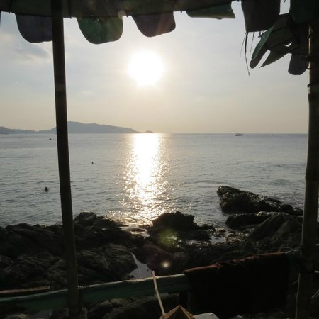 Patong Beach: Drinks at the North end of Patong