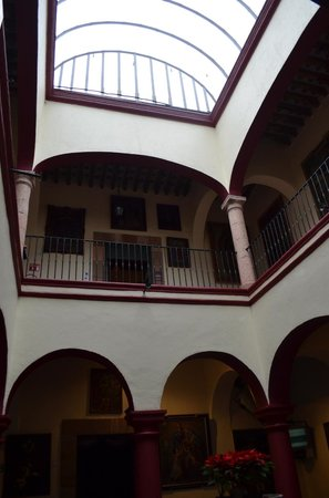 Museo Casa de la Zacatecana: The Atrium