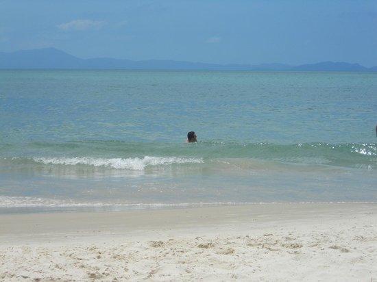 Canasvieiras: Mar calmo...