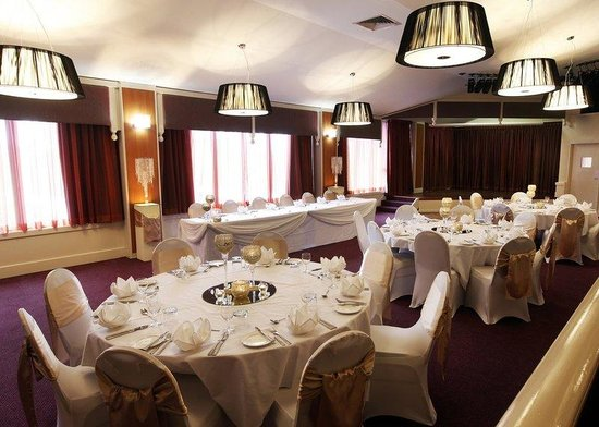 Charbonnier Hotel SIngleton: banquetroom