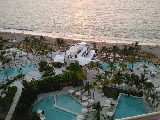 Now Amber Puerto Vallarta: de notre balcon...