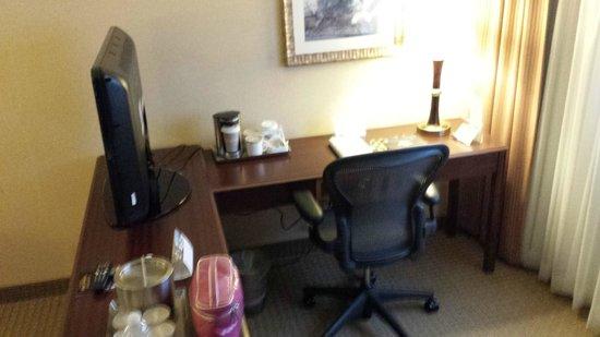 Radisson Hotel Nashville Airport: Work Area