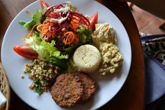 Middle Eastern Platter: fotografía de Tutmak, Ubud - TripAdvisor