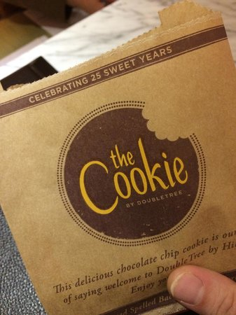DoubleTree by Hilton Kuala Lumpur: Nice cookies upon check-in