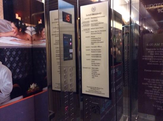 Sheraton Nha Trang Hotel and Spa: Elevator
