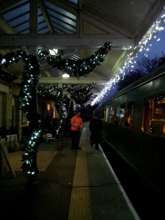 Weardale Railway: And even more lights.