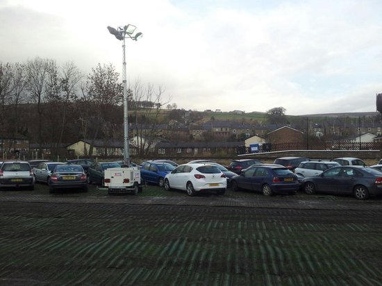 Weardale Railway: Some of the uniformed parking.
