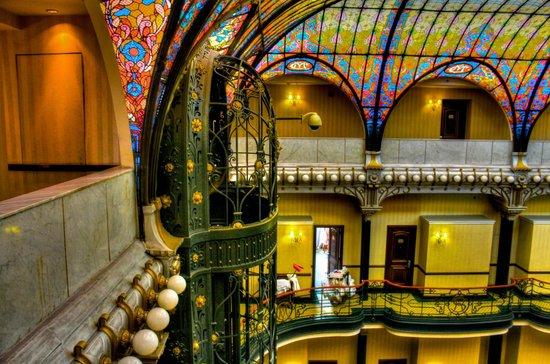 Gran Hotel Ciudad de Mexico: Elevador