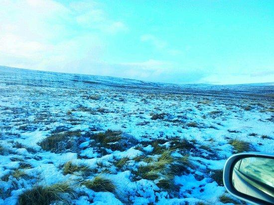 Weardale Railway: Snow for the polar express.??