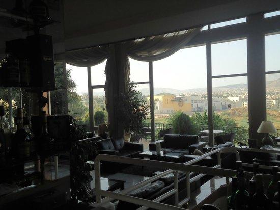 Menzeh Zalagh Hotel : Detalhe da área social