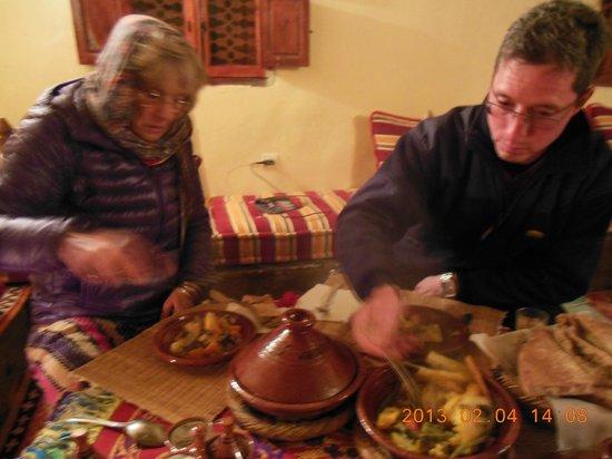 Imlil Authentic Toubkal Lodge : bon souper