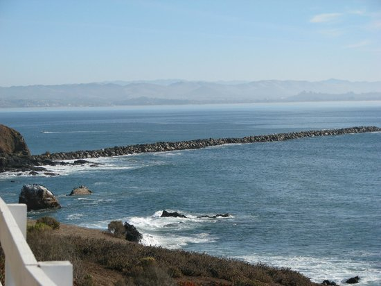 Point San Luis Lighthouse : View from the Port San Luis Lighthouse