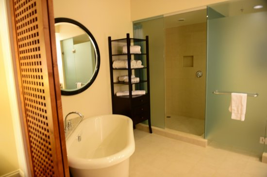 Kings' Land by Hilton Grand Vacations: Master Bath & Shower