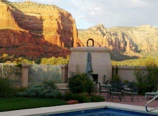 Canyon Villa Bed and Breakfast Inn of Sedona: Pool